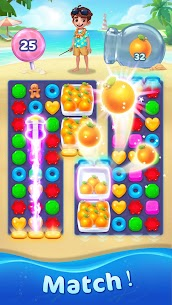 Jellipop Match-Decorate your dream island! 4