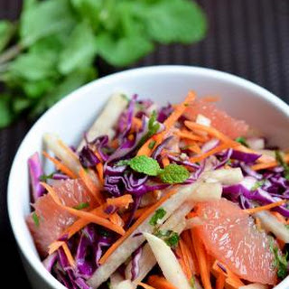 Jicama and Grapefruit Salad