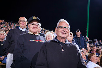 Photo: Members of the Class of 1963 enjoy the Purdue vs. Notre Dame football game.