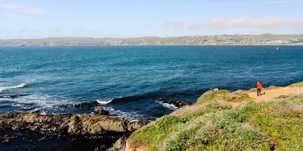 Photo: Enjoying the views at Tomales Point