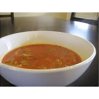 Vegan Tomato Quinoa Soup.