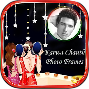 Karva Chauth Photo Frame Editor