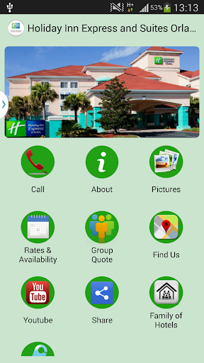 Holiday Inn Suites Orlando 1.0 screenshots 1