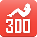 300 sit-ups abs workout. Be Stronger icon