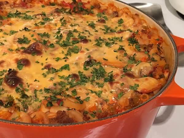 Frankie's Macaroni Casserole Recipe