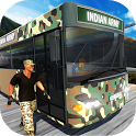 Indian Army Off-Road Bus Driver: Driving Simulator icon