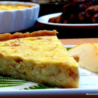 Bacon, Fennel and Leek Quiche