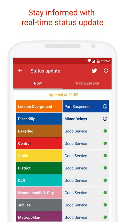 Probus - London Live Bus Arrivals & TfL Countdown- screenshot