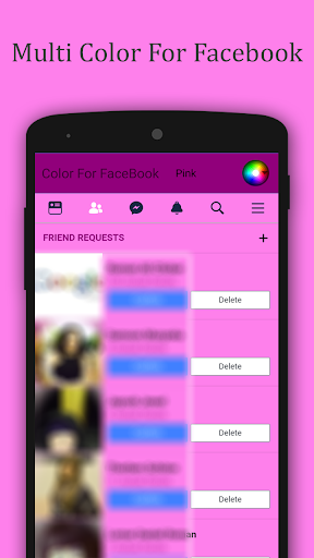 Multi Color For Facebook 1.0 screenshots 5