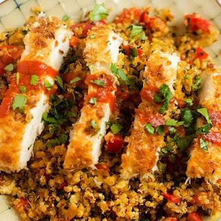 Coconut Chicken with Pineapple Fried Quinoa Recipe