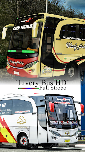 Livery Bus HD Full Strobo 1.0 screenshots 1