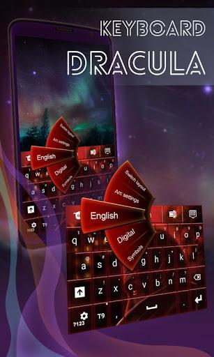 ドラキュラのキーボード