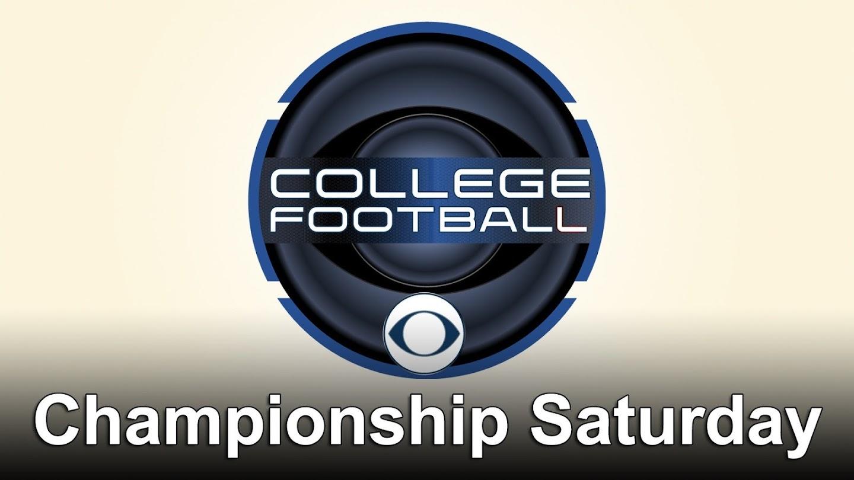 College Football Championship Saturday