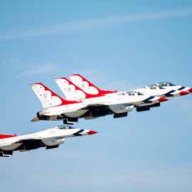 Thunderbirds by Margie Troyer - Transportation Airplanes
