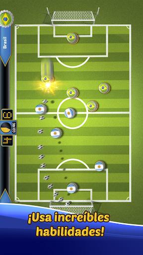 SOCCUP 2018 Soccer Star: Juego de fu00fatbol de chapas 1.5.5 screenshots 2