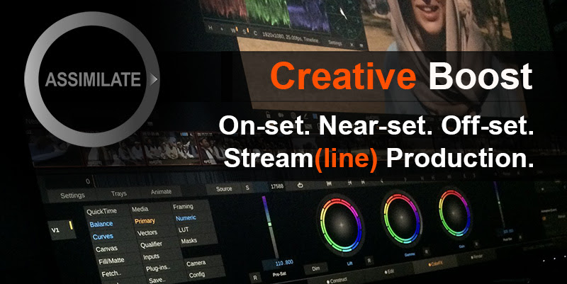 Online Event: ASSIMILATE Creative Boost – Remote On-Set Production In A New Era