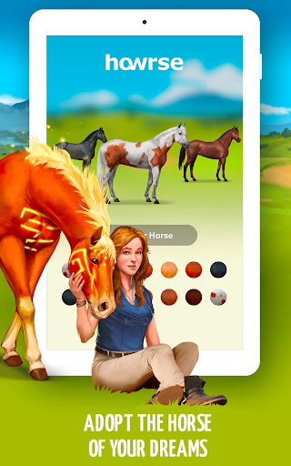 Howrse - free horse breeding farm game 4.0.5 screenshots 8