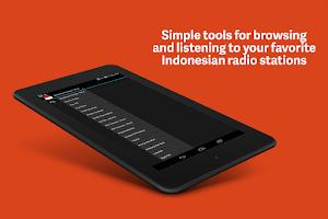Screenshot of Indonesia Radio