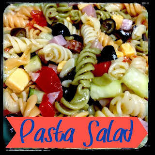 Pasta Salad With Black Olives And Tomatoes Recipes.