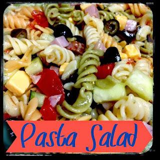 Pasta Salad.