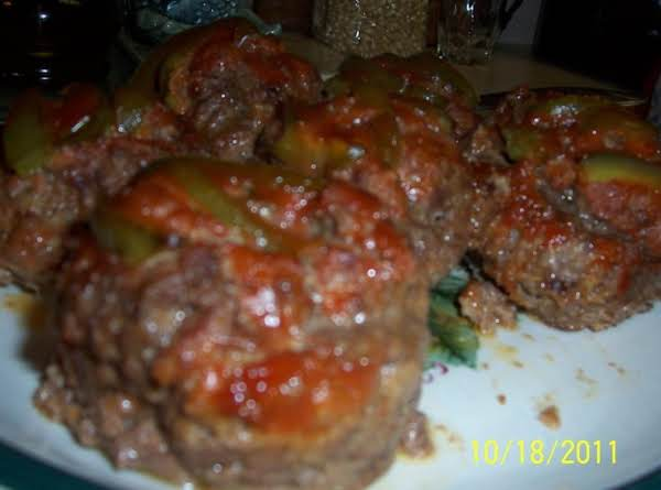 Mom's Meatloaf  In Jumbo Muffin Cups Recipe
