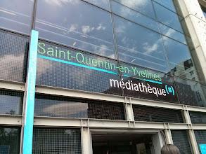 Photo: Médiathèque du Canal (Montigny-le-Bretonneux)
