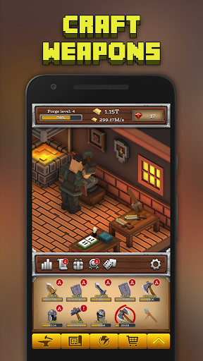 ForgeCraft - Idle Tycoon. Crafting Business Game. ss1