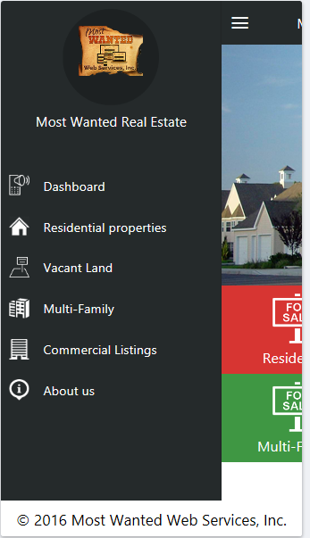 Most Wanted Real Estate- screenshot
