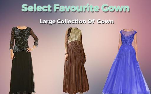 Women Gown Dress Photo Maker 1.1 screenshots 4