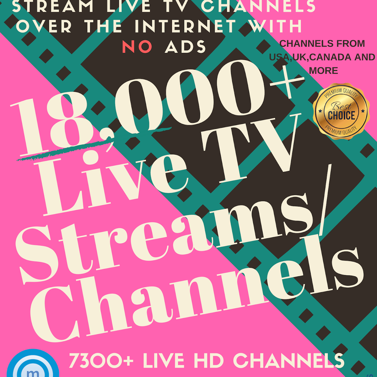 Premium IPTV - Live Internet TV from over 38 countries world