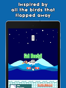 Pecky Flight: A Flappy Penguin- screenshot thumbnail