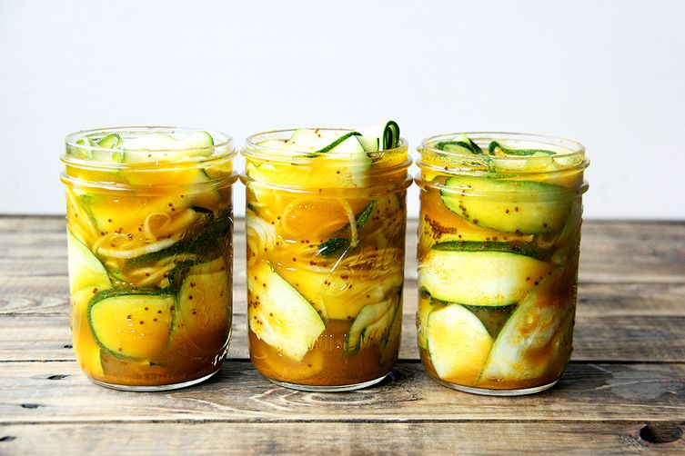 Zucchini pickles are the new big dill