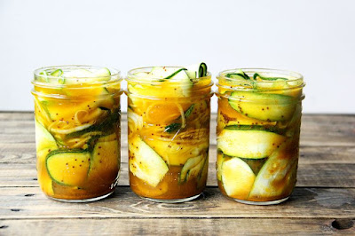Zucchini pickles are the new big dill