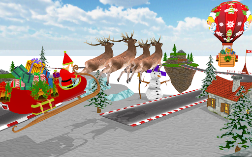 Santa Christmas Infinite Track 1.2 screenshots 2