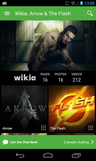 ウィキア:ARROWとThe Flash