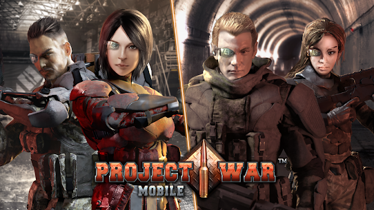 Project War Mobile – online shooting game Apk Download For Android and Iphone 7