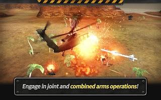Screenshot of GUNSHIP BATTLE : Helicopter 3D