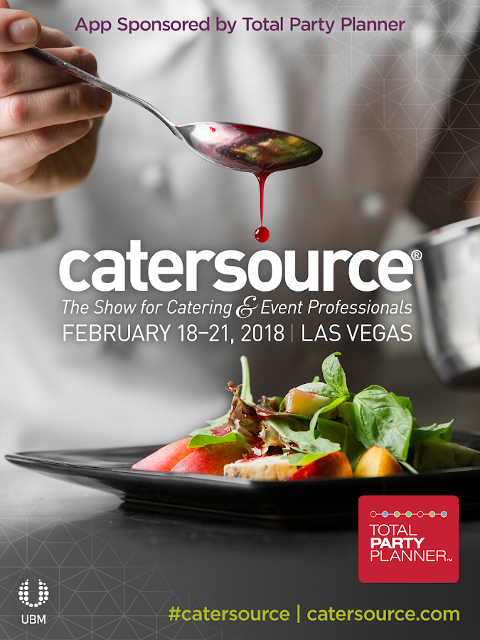 Catersource- screenshot