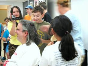 Photo: Jim's Hair cutting for Friends of Karen Charity