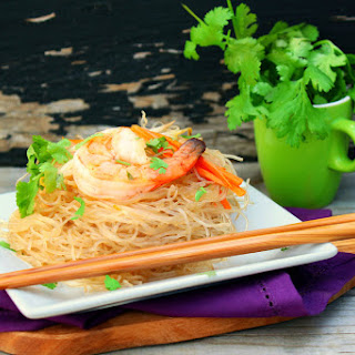 Fen Si with Shrimp (Chinese Glass Noodles) Recipe
