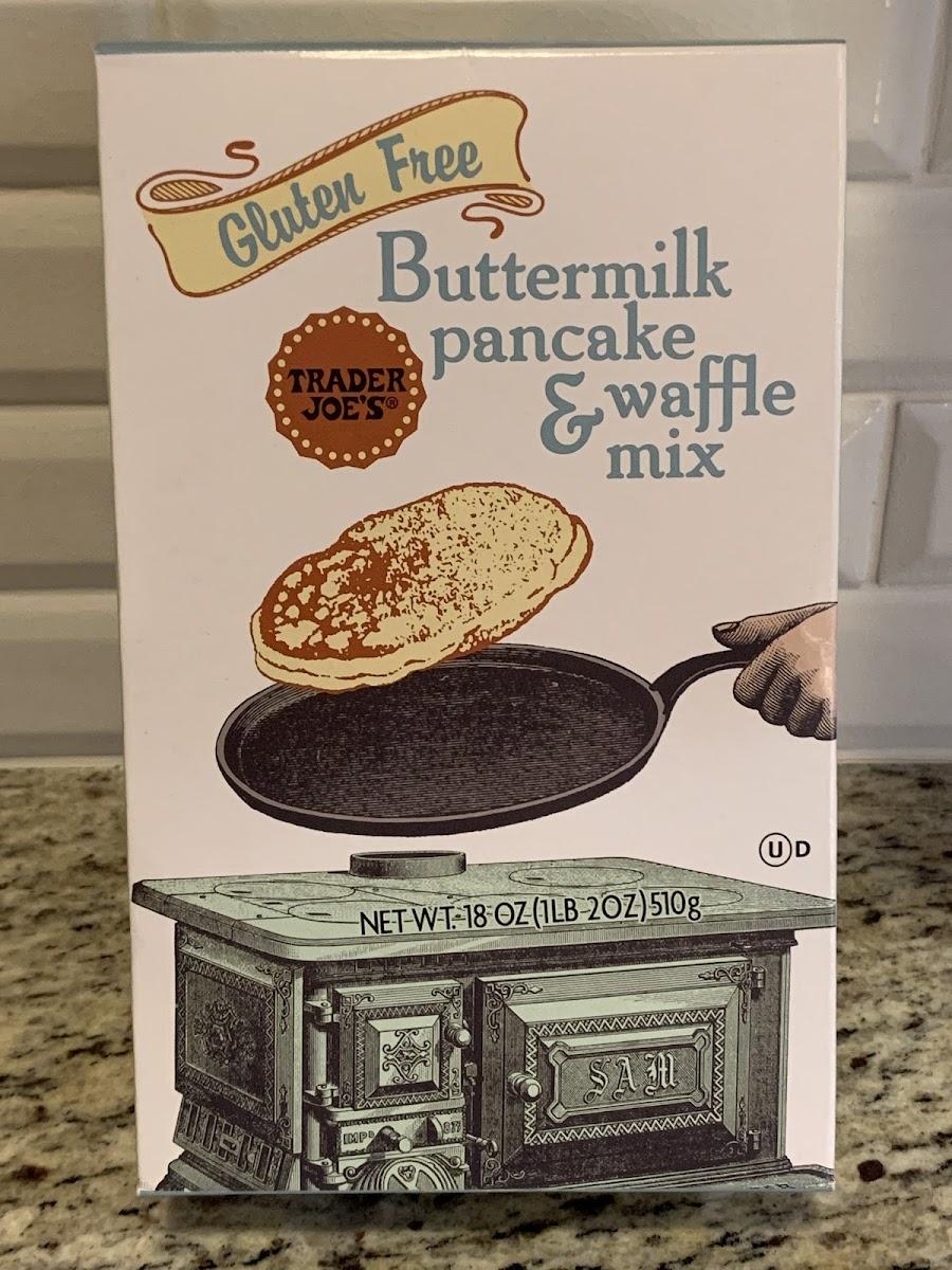 Gluten Free Buttermilk Pancake & Waffle Mix