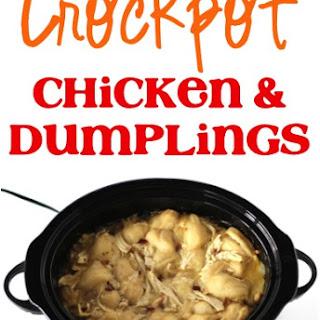 Crockpot Chicken and Dumplings Recipe!