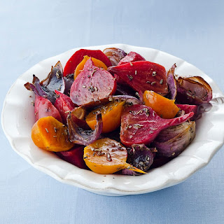 Roasted Balsamic Beets.