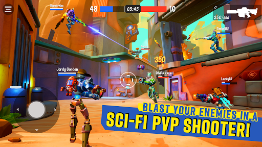 Blast Bots - Blast your enemies in PvP shooter! 1.0 screenshots 1