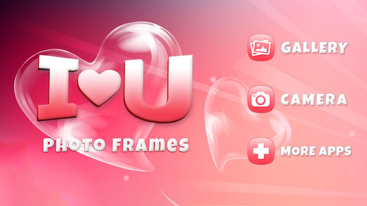 i love you photo frames screenshot