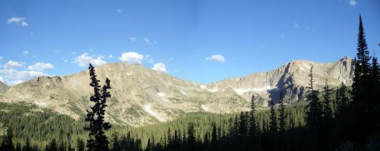 Photo: Tanima Peak and Mount Alice.