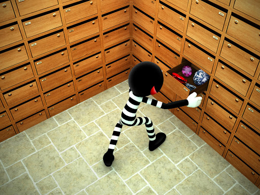 Stickman Bank Robbery Escape  screenshots 8