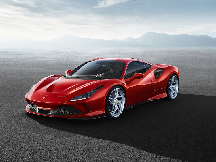 The F8 Tributo replaces the acclaimed Ferrari 488. Picture: SUPPLIED