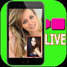 ビデオ通話ライブチャットランダムストリーミング番組ガイド icon