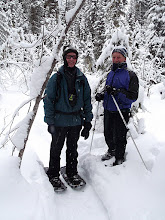 Photo: Snowshoeing